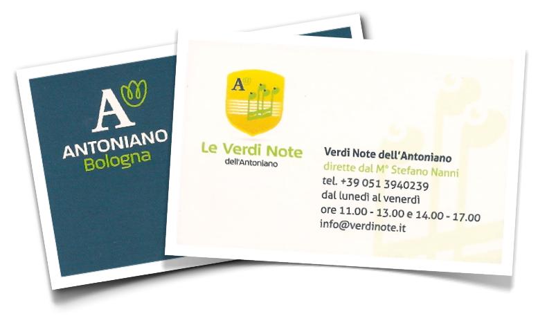 Contatta le Verdi Note dell'Antoniano di Bologna
