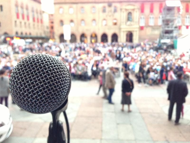 Concerto in Piazza Maggiore, Bologna, 4 Ottobre 2012