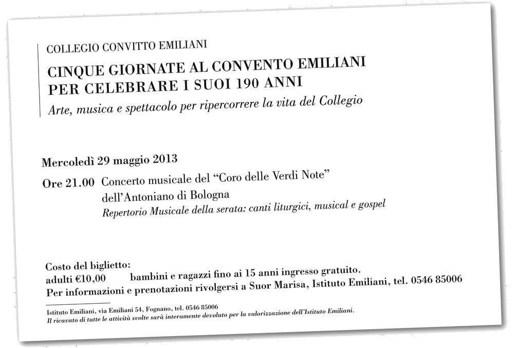 Concerto Verdi Note, 29 Maggio 2013