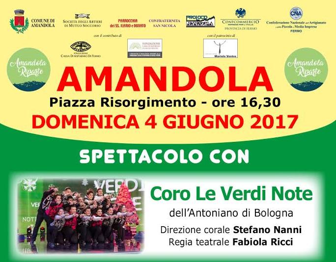 Le Verdi Note in concerto ad Amandola (FM)