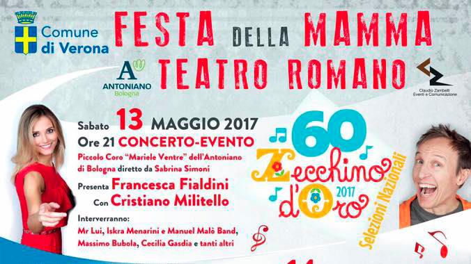 Selezioni Zecchino d'Oro: a Verona per la Festa della Mamma!