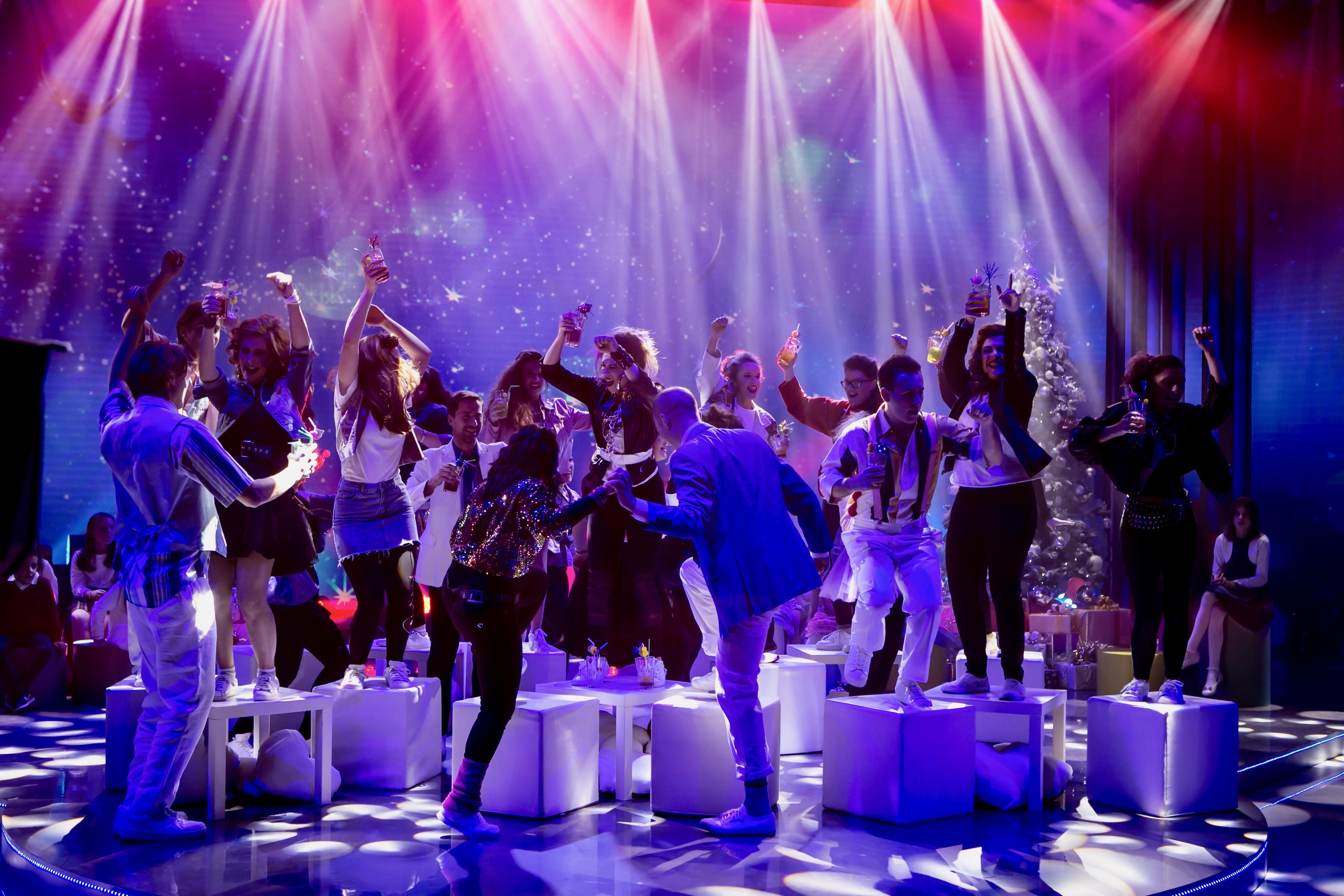 """Le Verdi Note a """"L'attesa"""" con """"Last Christmas"""", Rai1"""